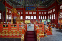 Interior of  Ancient palace building Royalty Free Stock Photography