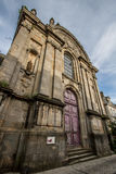 Ancien högskolades Jesuites, Langres, Frankrike Arkivfoto