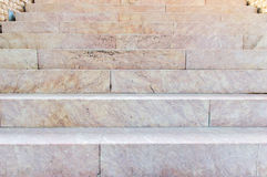 Ancien marble stairs Royalty Free Stock Images