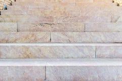 Ancien marmuru schodki obrazy royalty free