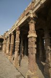 Ancien mosque in Qutub minar Royalty Free Stock Photography