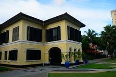 Ancien palais de sultan de Johor, Singapour photographie stock libre de droits