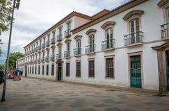 Ancien palais impérial de Paco Imperial - Rio de Janeiro, Brésil images stock