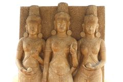 Ancien thailand statues Royalty Free Stock Photography