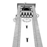 ancien zegarowego towe r w Italy Europe starym kamieniu i dzwonie Obraz Royalty Free