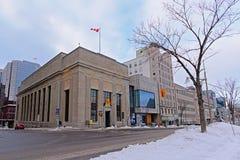 Ancienne banque du bâtiment de Montréal, Ottawa, Canada images stock