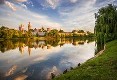 Ancienne beauté du couvent de Novodevichy Images stock