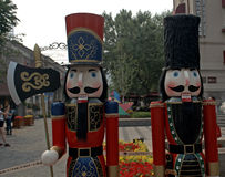 Ancienne concession italienne, Tianjin, Chine photos libres de droits