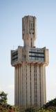 Ancienne construction d'ambassade soviétique dans Havana? Photos stock