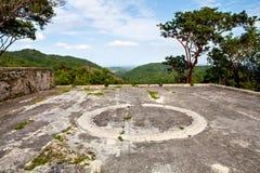 Ancienne ferme de café, Buena Vista, Eco-village de Las Terrazas, Cuba, Pinar Del Rio Pro Photographie stock
