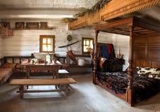 Ancienne pièce intérieure de chef militaire Images stock