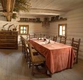 Ancienne pièce intérieure de chef militaire Photos stock