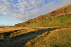 Anciennes falaises de mer Photographie stock libre de droits