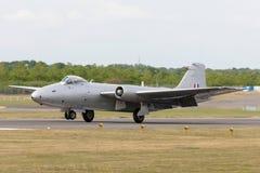 Anciennes RP électriques anglaises de Royal Air Force Canberra 9 avions de reconnaissance photographique G-OMHD ont fonctionné pa photos libres de droits