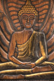 Ancienr Traditional Thai style Lord Buddha Royalty Free Stock Images