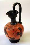 Ancient. Greek vase on white background Royalty Free Stock Photos