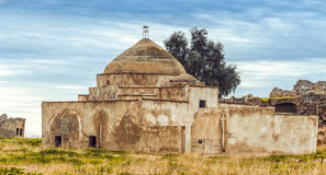 Ancient abandoned mosque in Iraq Stock Images