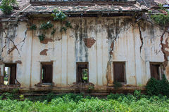 Ancient abandoned temple in Thailand Stock Images
