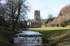 Ancient Abbey. Royalty Free Stock Image