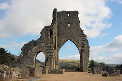 Ancient Abbey Stock Image