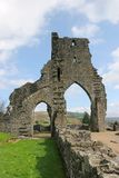 Ancient Abbey Arches Royalty Free Stock Photos