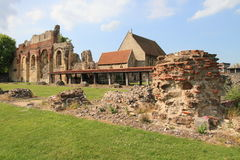 Ancient abbey of Canterbury Royalty Free Stock Photo