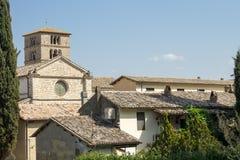 Ancient Abbey of Farfa near Rome Royalty Free Stock Photos
