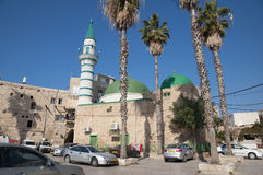 Ancient Acre (Akko, Acco). The old city of Acre (Akko, Acco Royalty Free Stock Images