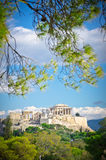 Ancient Acropolis, Athens, Greece Royalty Free Stock Images