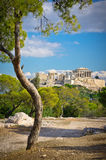 Ancient Acropolis, Athens, Greece Royalty Free Stock Photography