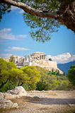 Ancient Acropolis, Athens, Greece Stock Photography