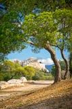 Ancient Acropolis, Athens, Greece Stock Image