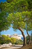 Ancient Acropolis, Athens, Greece Stock Photos