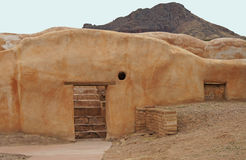 Ancient adobe building Royalty Free Stock Image
