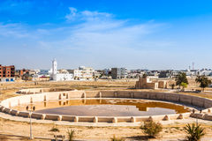 Ancient Aghlabid Basins in Kairouan Stock Photo