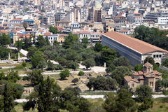 The Ancient Agora Stock Images