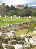 The Ancient Agora Stock Photography