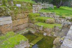 Ancient agora Stock Photo