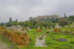 Ancient agora Stock Photography