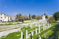 Ancient Agora of Athens Stock Photo