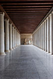 The Ancient Agora - Athens Royalty Free Stock Photos