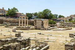 Ancient Agora of Athens Royalty Free Stock Photography