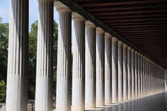 Ancient Agora of Athens Stock Photos