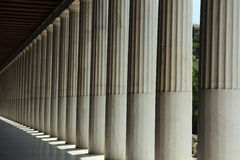 Ancient Agora of Athens Stock Photos