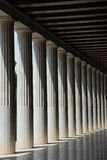 Ancient Agora of Athens Stock Photography