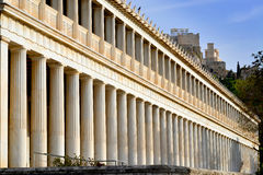 Ancient Agora of Athens Royalty Free Stock Photos