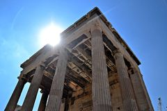 Ancient Agora. In Athens, Greece Royalty Free Stock Images