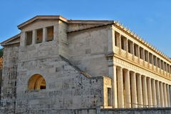 Ancient Agora of Athens. Ancient Agora in Athens, Greece Stock Images