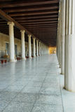 Ancient Agora in Athens Royalty Free Stock Images