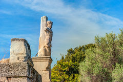 Ancient agora, Athens, Greece. Beautiful landscape photography Royalty Free Stock Images
